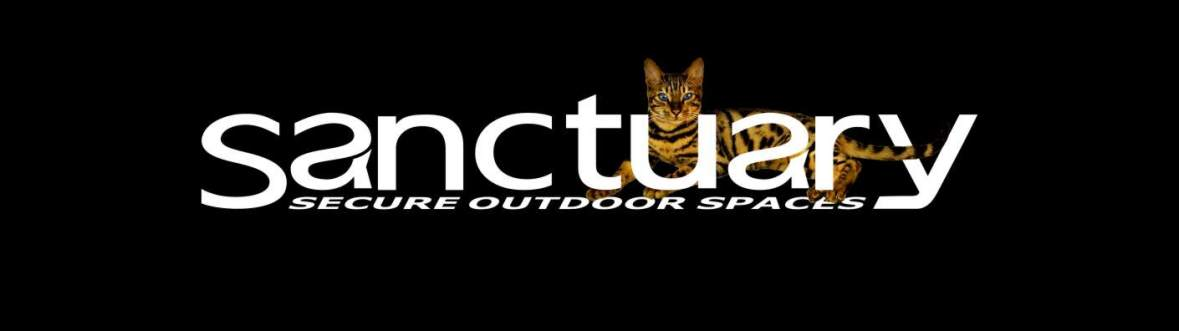 Sanctuary SOS Ltd logo with Bengal Cat