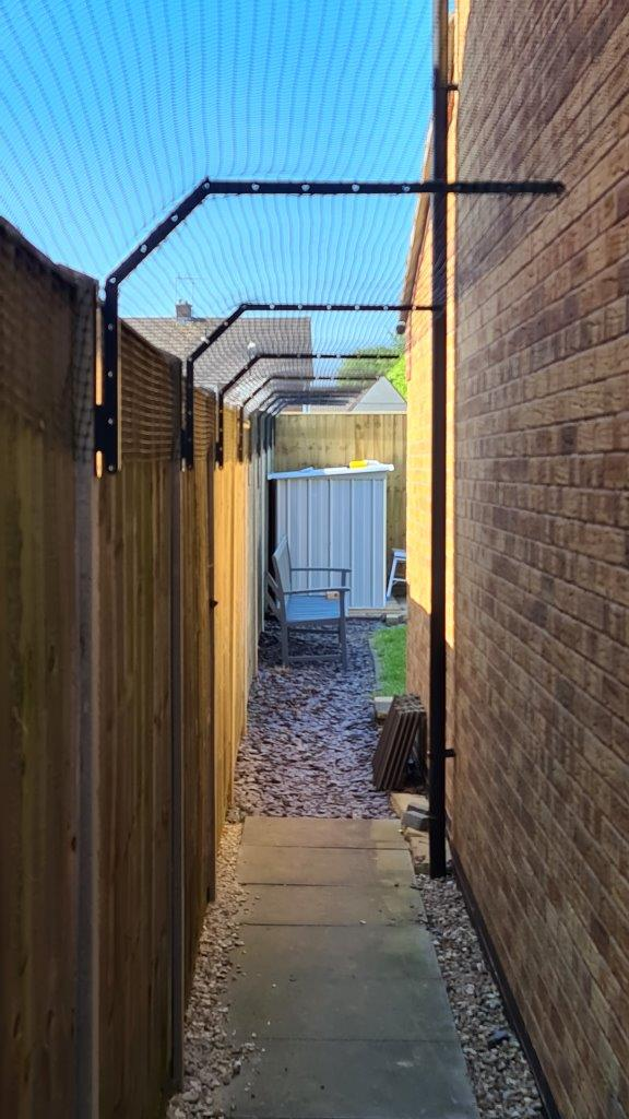 cat proof fence toppers