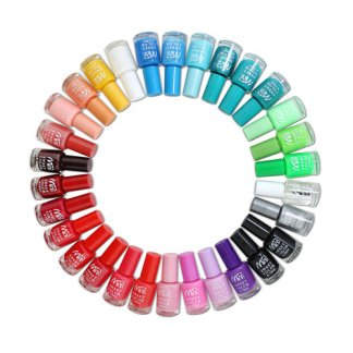 Gel Nail Polish 1 Colours Set UV LED Soak Off Manicure Base Top Coat Gift HNM