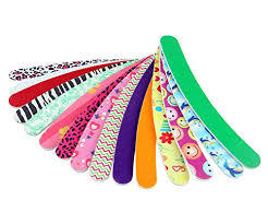 Nail Files-5-Nail Emery Boards-Files Buffer-Pedicure Manicure Kits