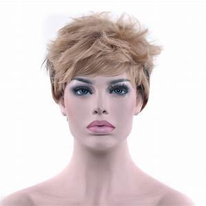 Soowee Short Curly Synthetic Hair High Temperature Fiber Hairpiece Wigs Brown Hair – Party Hair