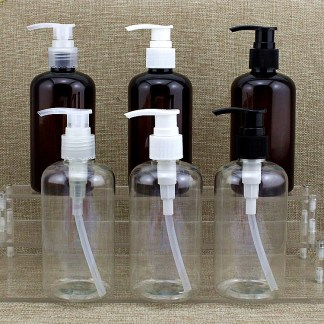 Lotion Pump Bottle -PET -250mls – 5pcs