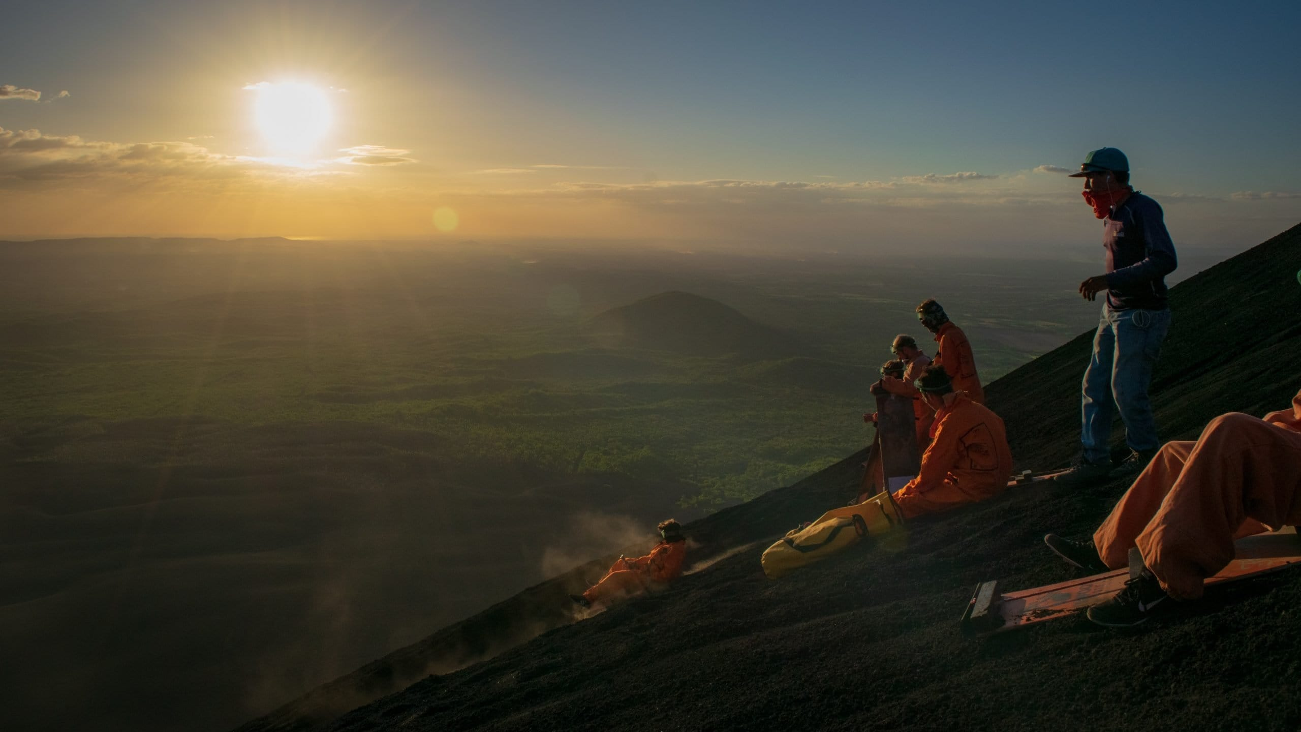 Volcano Boarding: Where and how to sandboard on active volcanoes