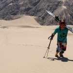 Sand-skiing: the latest sandsport fad