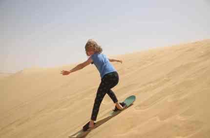 Sandboarding how to