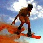 Sandboarding tricks