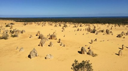 The Pinnacles Desert in Western Australia