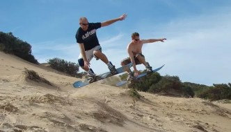 5 Reasons you should try sand boarding