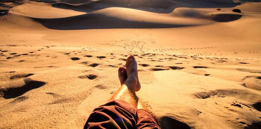 Barefoot in the Desert