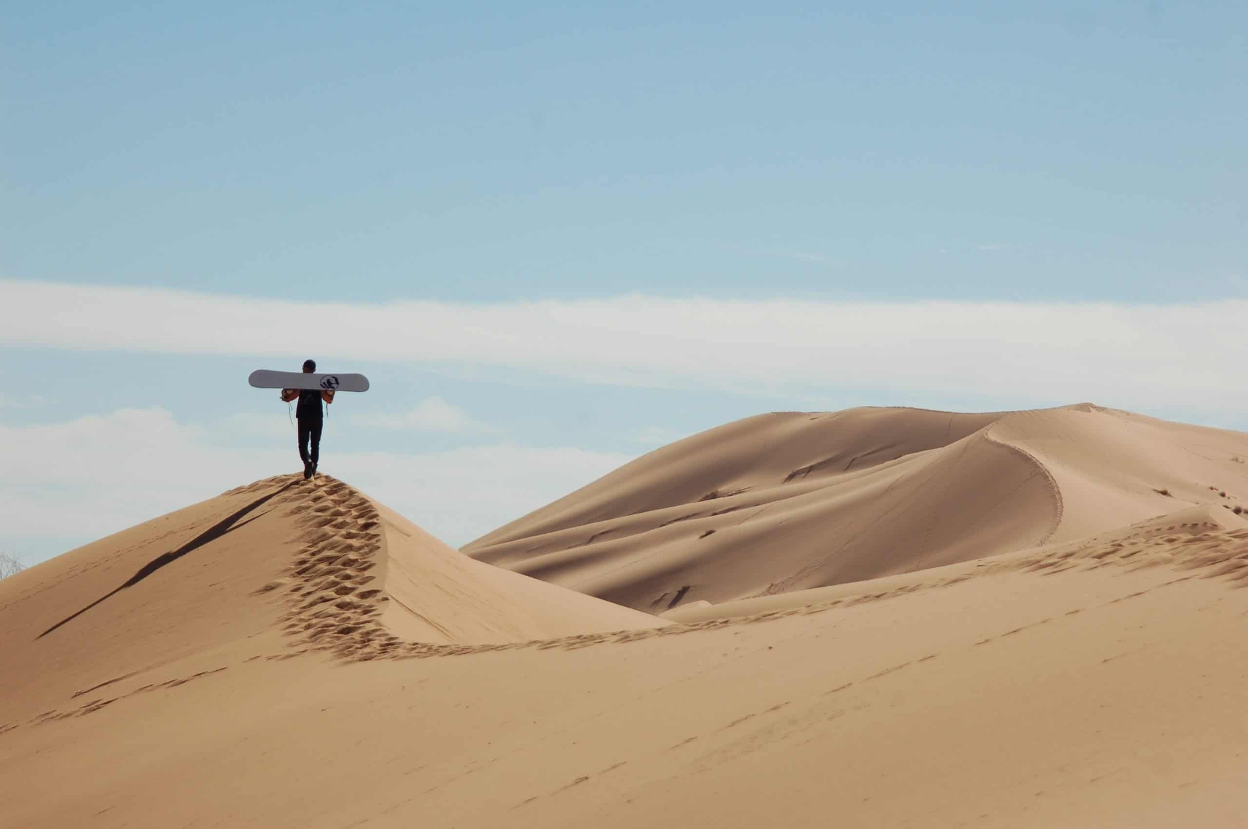 What is sandboarding and how does it work?