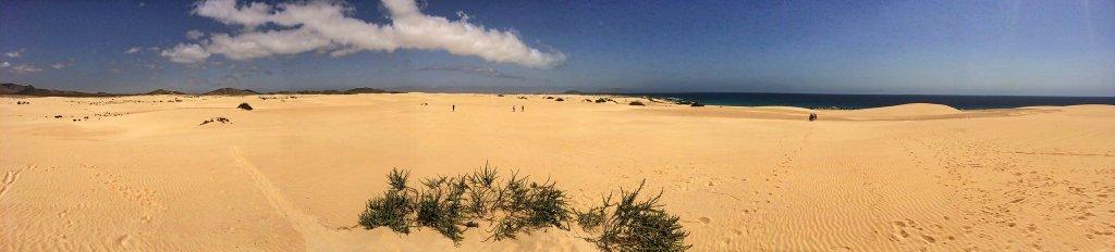 Dunas de Corralejo in Fuerteventura