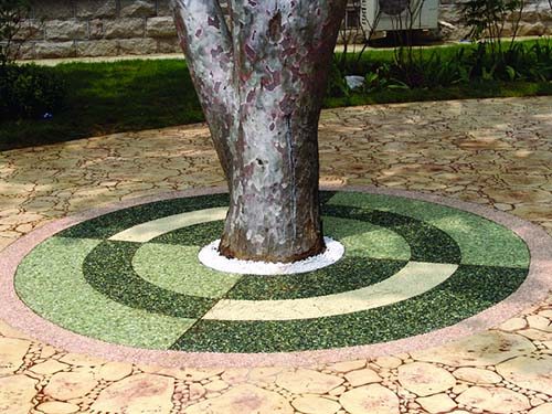 Silicone Sandstone Tree Girdle, Tree Root Girdling, Tree Girdling