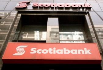 Une banque nouvelle ecossaise sur Santiago...