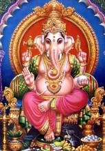 Статуэтка индийского бога Ганеши