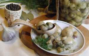 Быстрые маринованные шампиньоны простой вкусный рецепт