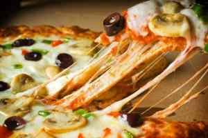 Пицца-хлеб за 10 минут вкусный простой рецепт