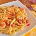 Паста феттучини с креветками вкусный рецепт