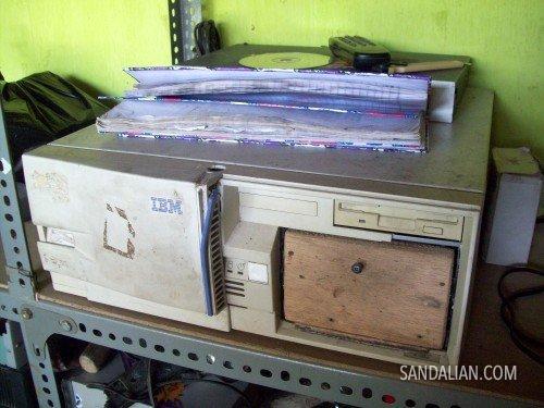 cool old CPU case