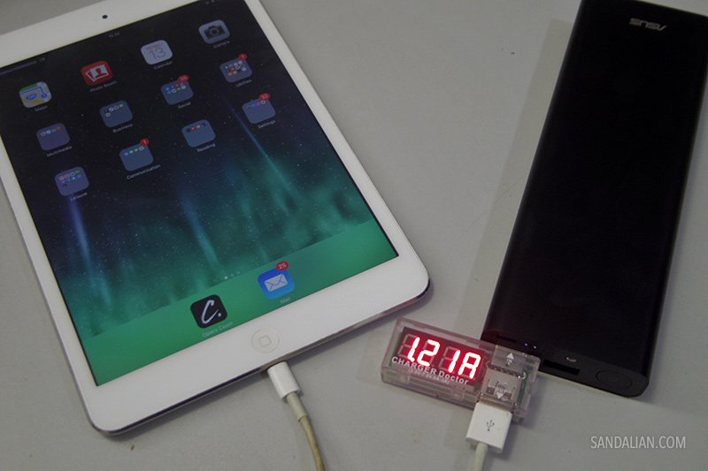 Charging iPad Mini with Asus ZenPower Ultra