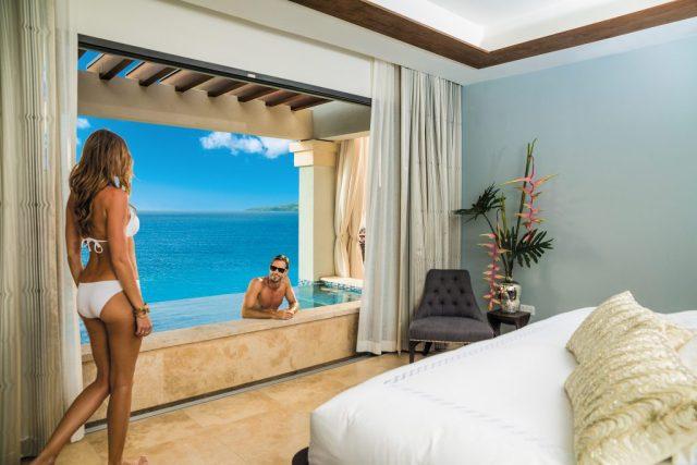 Suite luxueuse lune de miel tout compris Sandals Grenada avec piscine Sky