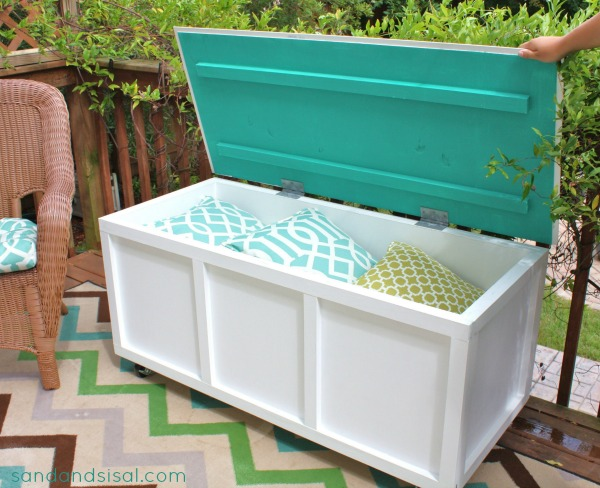 Diy Outdoor Storage Box Trammel414