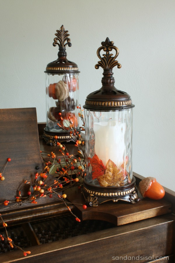 Simple Fall Decorating - Sand and Sisal on Kirkland's Home Decor id=92757