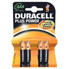 Duracell Plus Power AAA 4-pack