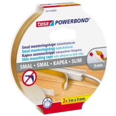 Tesa Monteringstejp Powerbond Slim 9mm