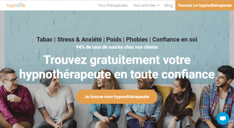 screen plateforme hypnolib