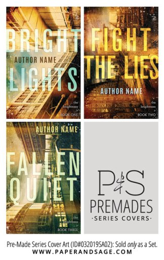 PreMade Series Covers ID#032019SA02 (The Brightness Series, Only Sold as a Set)