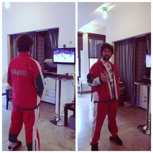 Rob's Olympic Garb