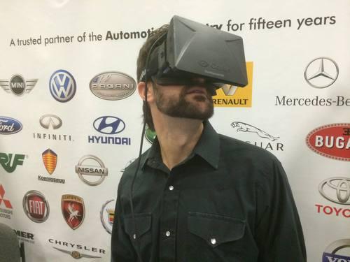 Testing the Oculus Rift