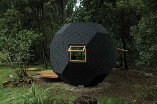 polyhedron-house
