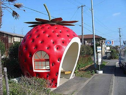 strawberry-bus-stop