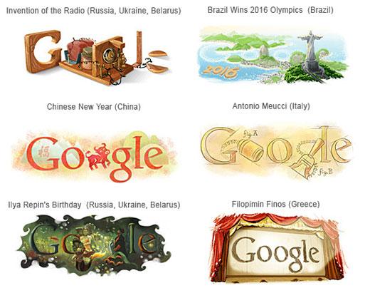 Google-Doodles