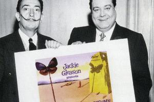 Salvadore Dali Meets Jackie Gleason