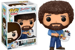 "Bob Ross ""Joy of Painting"" Pop Television Figure"