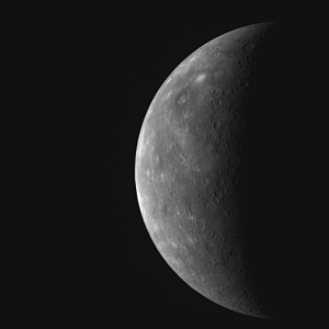 A previously unseen portion of Mercury's surface <i>NASA</i>
