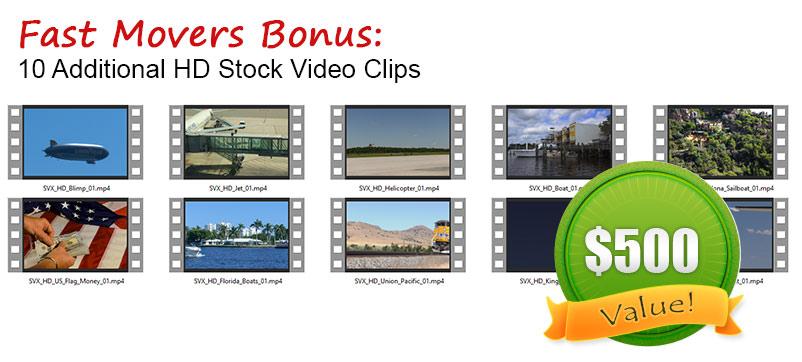 stock video developer license
