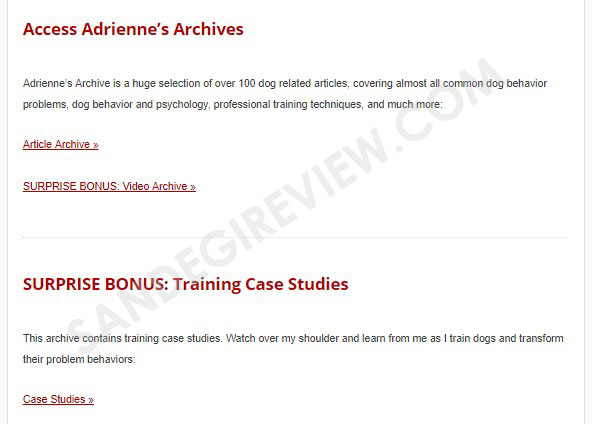 brain training for dogs review member area