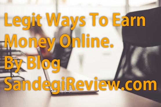 Legit Ways to Earn Money Online