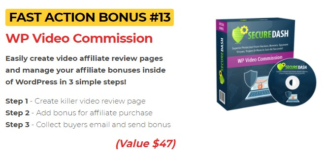 secure dash review bonus