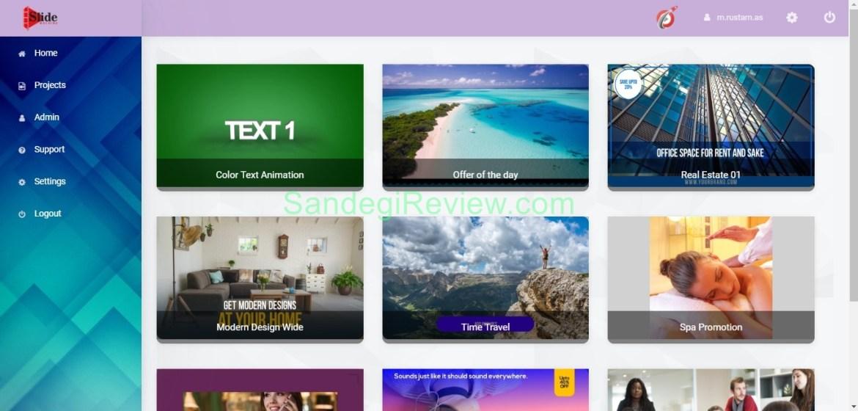 video app suite slide machine review