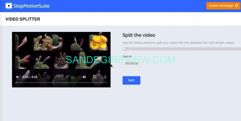 stop motion suite video splitter