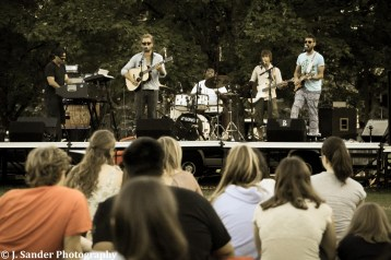 The Brightside performing at Linfield College