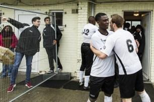 BX Brussels voetbalt in JEtte