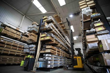 Specialist storage for high-value stock