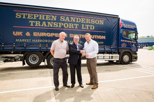 Stephen Sanderson Transport Ltd - Stephen Sanderson, Graham Leitch, Ed Sanderson