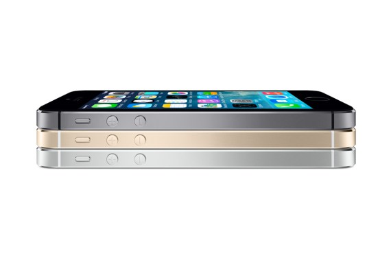 Apple iPhone 5s blackgoldwhite