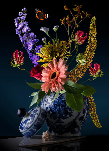 RoyalDutch, dutch flowerart, flower art